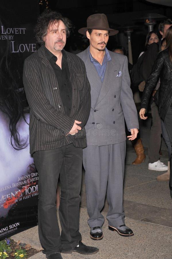 Download Johnny Depp, Tim Burton editorial stock photo. Image of paul - 23945653