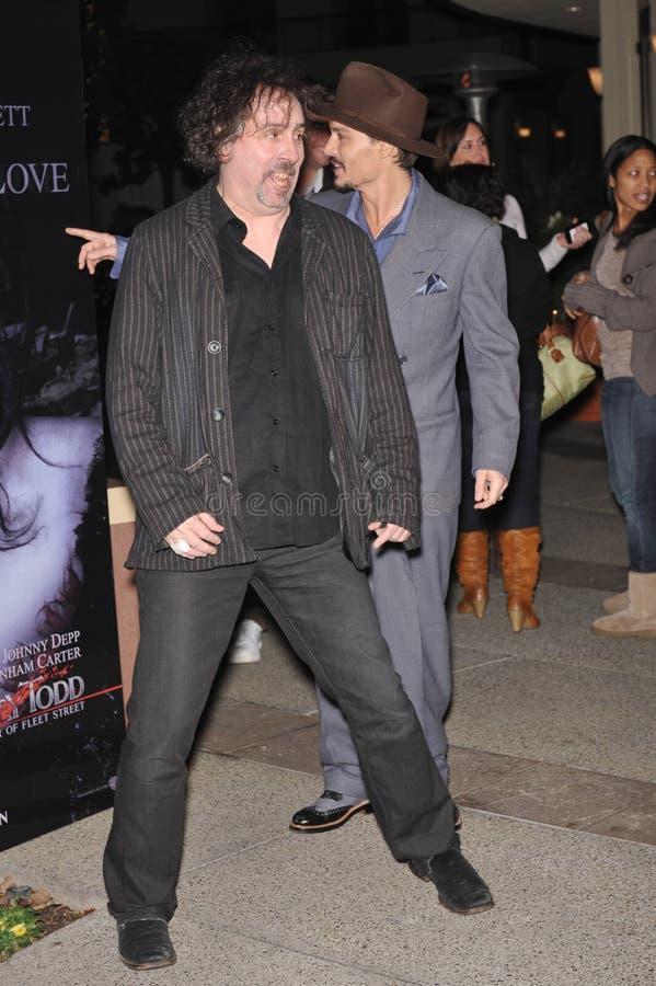 Johnny Depp, Tim Burton Editorial Image