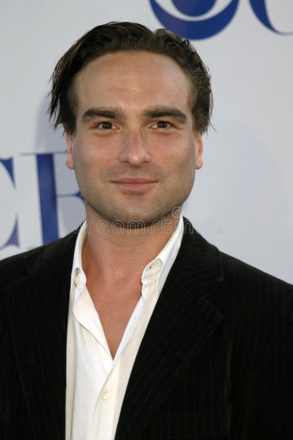 Download Johnny Galecki editorial stock image. Image of theater - 30571724
