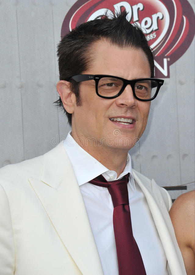 Johnny Knoxville stock afbeelding