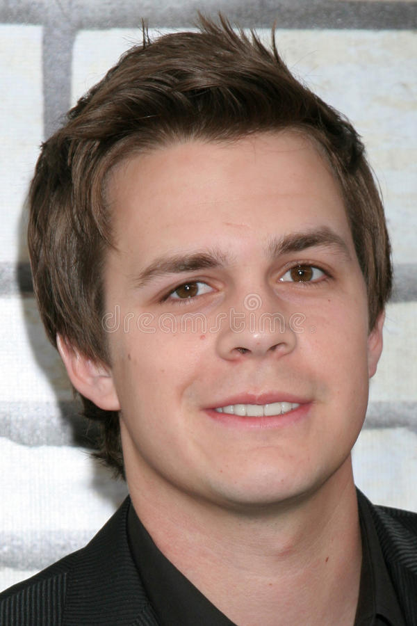 Download Johnny Simmons editorial stock image. Image of paramount - 26286939