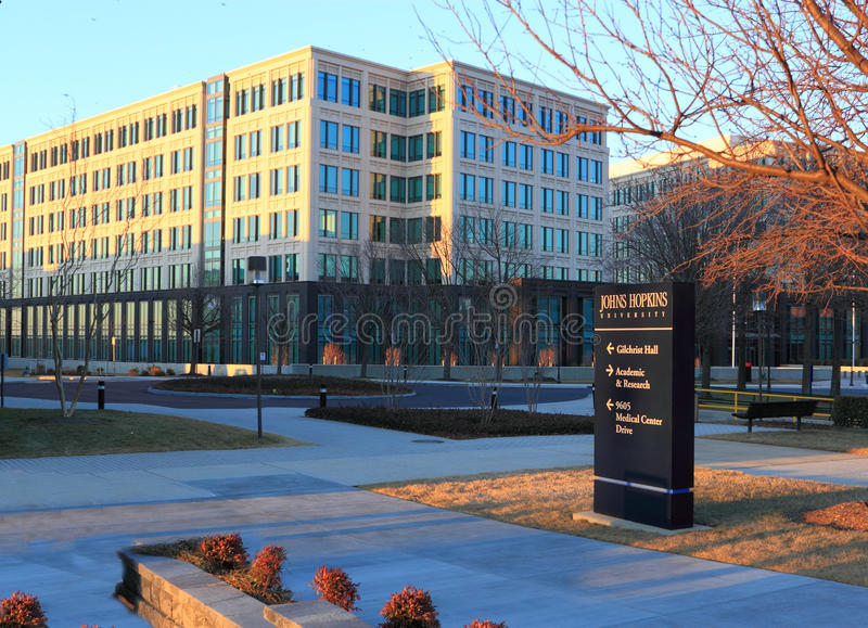 Johns Hopkins universitetar arkivbild