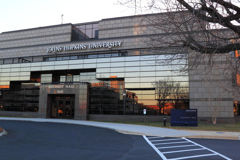 Johns Hopkins universitetar arkivfoton