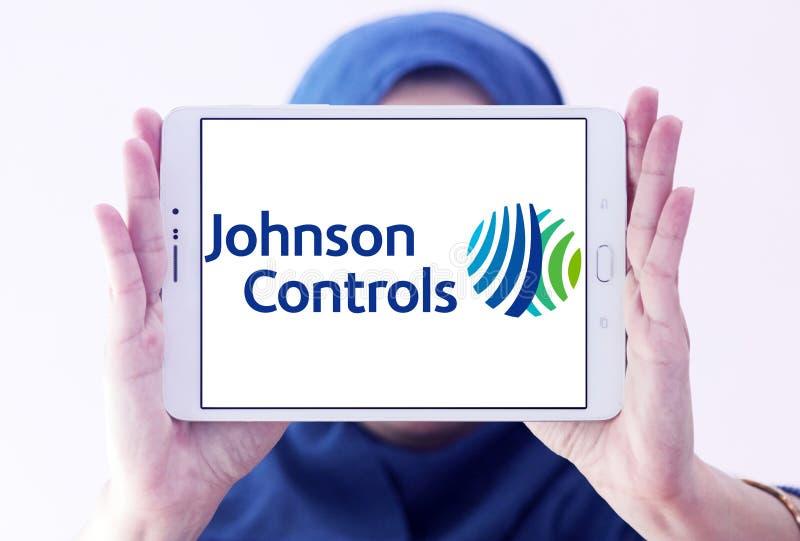 Johnson Controls-Firmenlogo lizenzfreies stockbild
