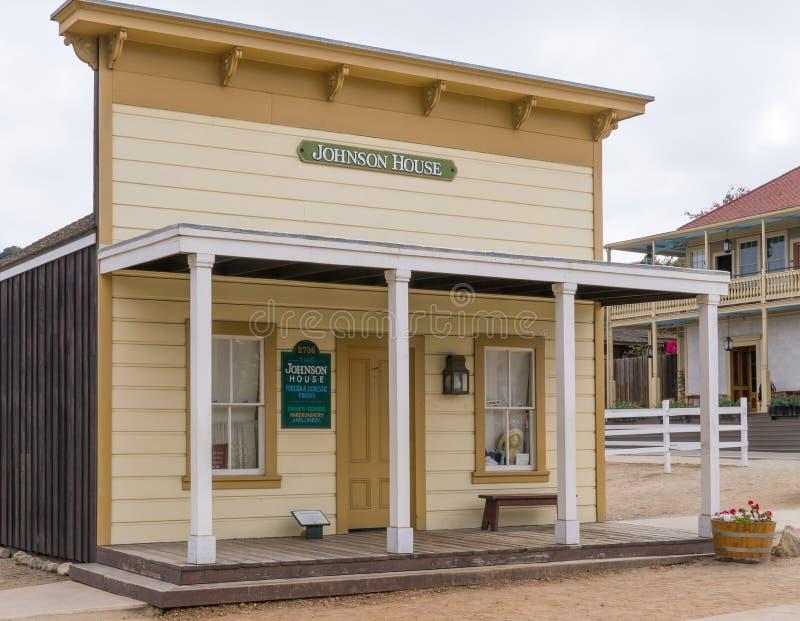 Download Johnson House à La Vieille Ville San Diego State Historic Park Image éditorial - Image du héritage, california: 77159465