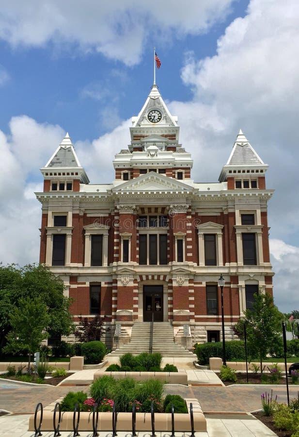 Johnson okręgu administracyjnego gmach sądu fotografia royalty free