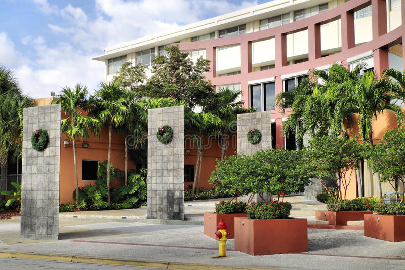johnson uniwersytet Miami Wales fotografia royalty free