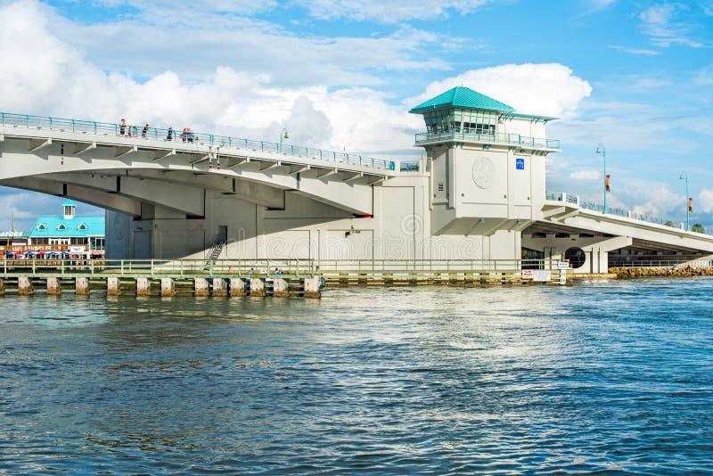 Johnspas - Schateiland Florida royalty-vrije stock foto's