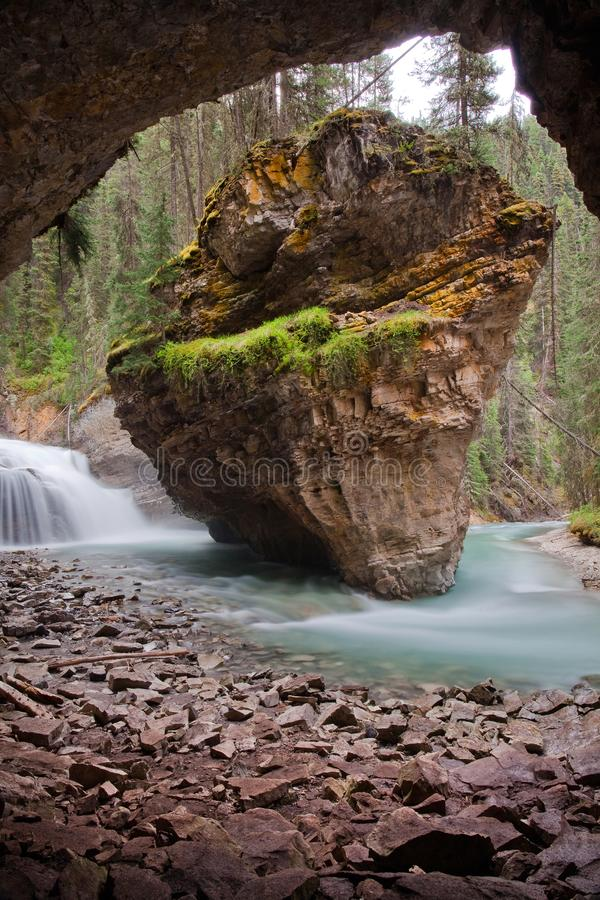 Johnston Canyon photo libre de droits