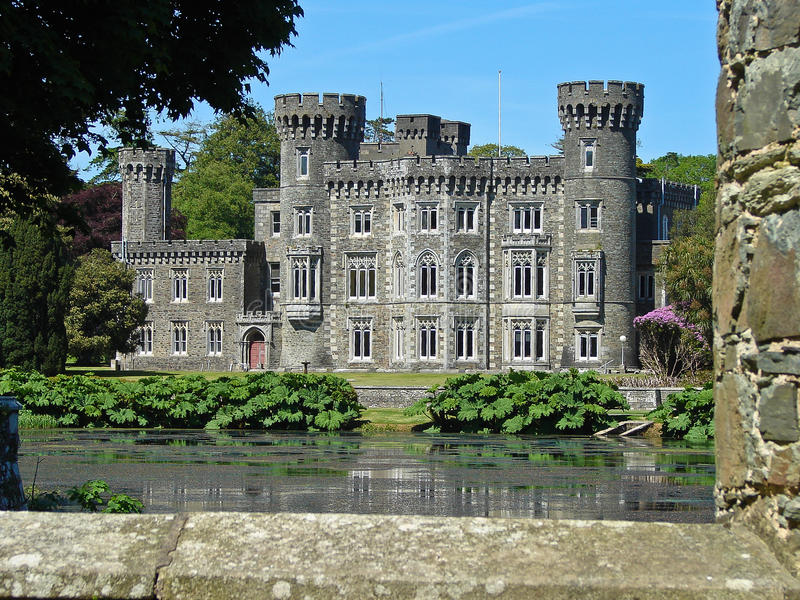 Download Johnstown  Castle stock photo. Image of fortress, beautiful - 23313030