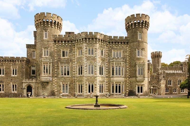 Johnstown slott ståndsmässiga Wexford ireland arkivfoton