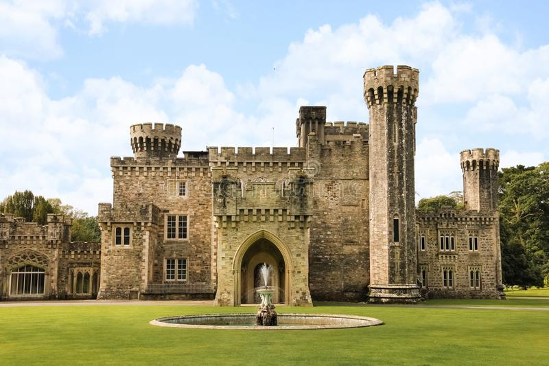 Johnstown slott ståndsmässiga Wexford ireland arkivbild