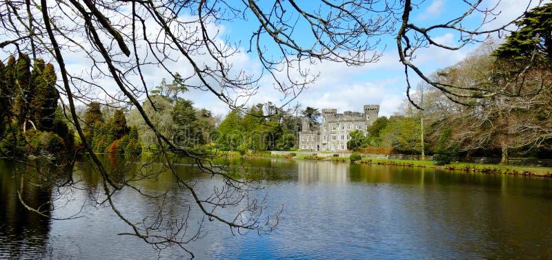 Johnstown slott Wexford, Irland fotografering för bildbyråer