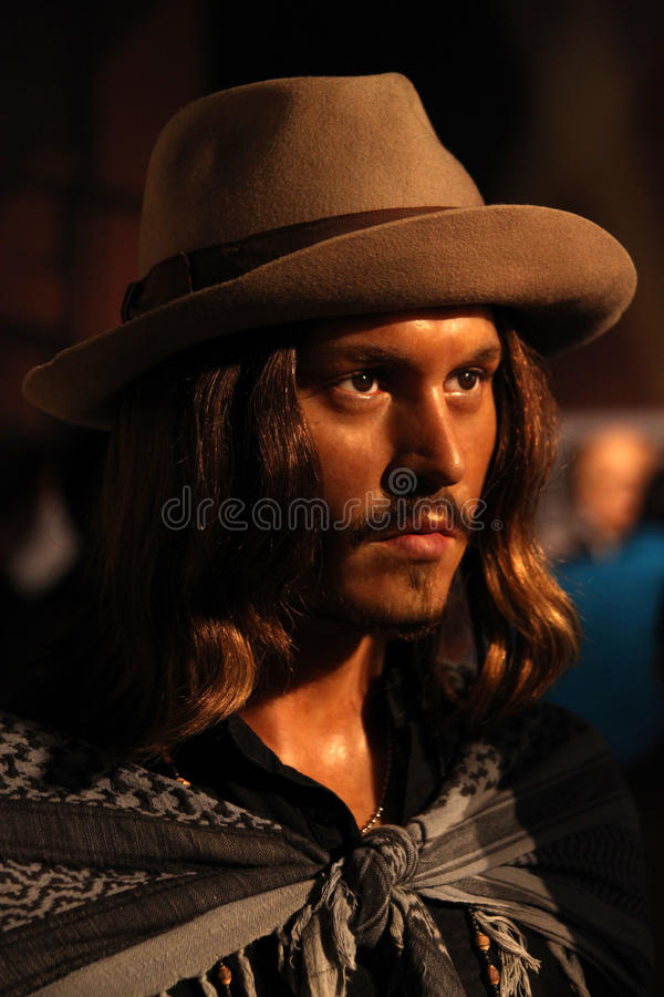 Johny depp stock images