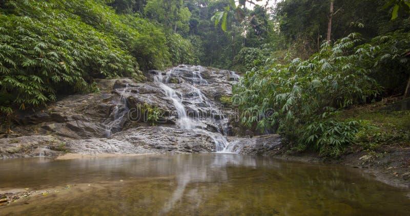 Johor parka narodowego siklawa, Malezja obrazy royalty free