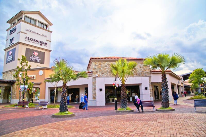 Johor premii ujścia zdjęcie royalty free