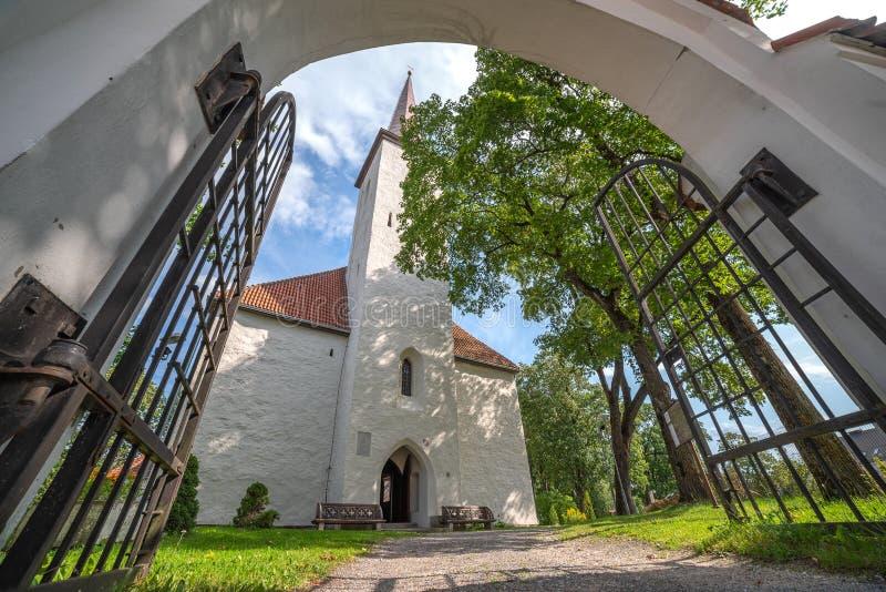 Johvi is een stad in het noordoosten van Estland stock afbeeldingen