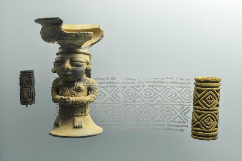 Joia no museu do ouro em Cartagena, Colômbia imagens de stock