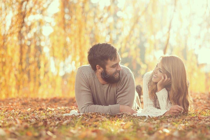 Joie d'automne photographie stock
