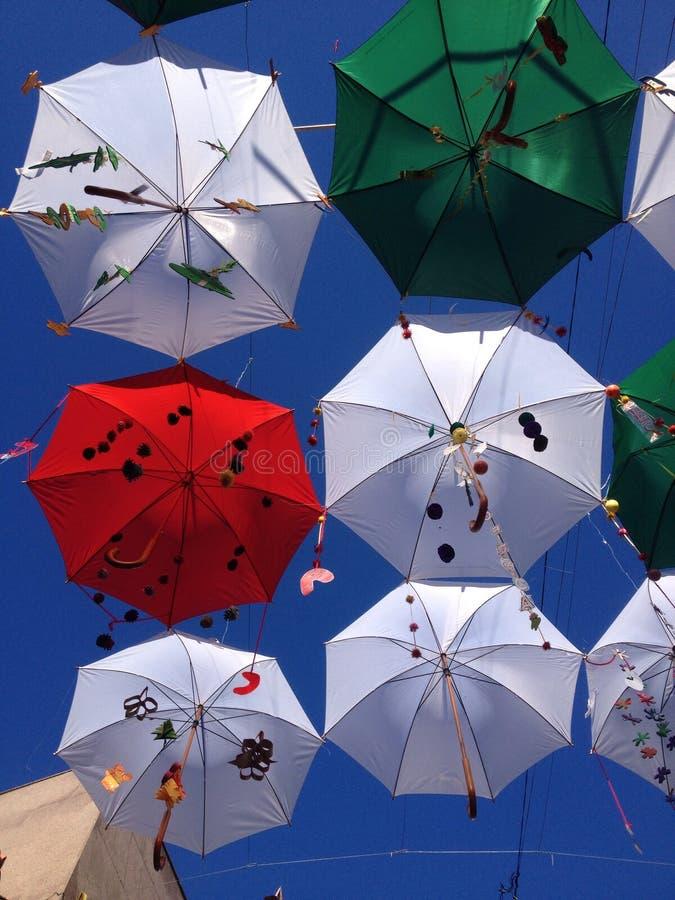 Joie dans le ciel photo libre de droits