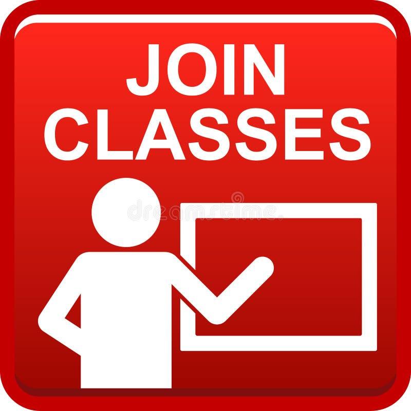 Joignez les classes illustration libre de droits