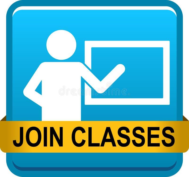 Joignez les classes illustration de vecteur
