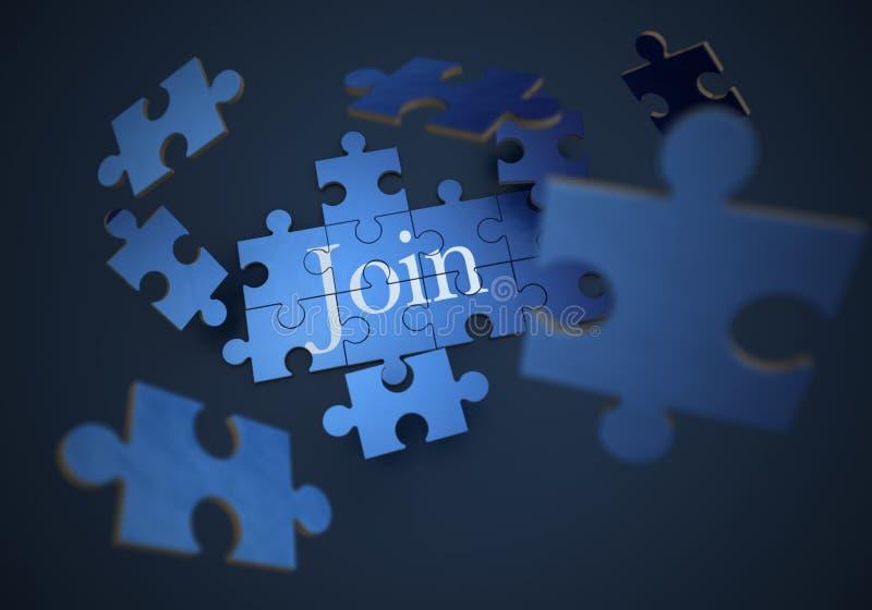 join stock illustratie