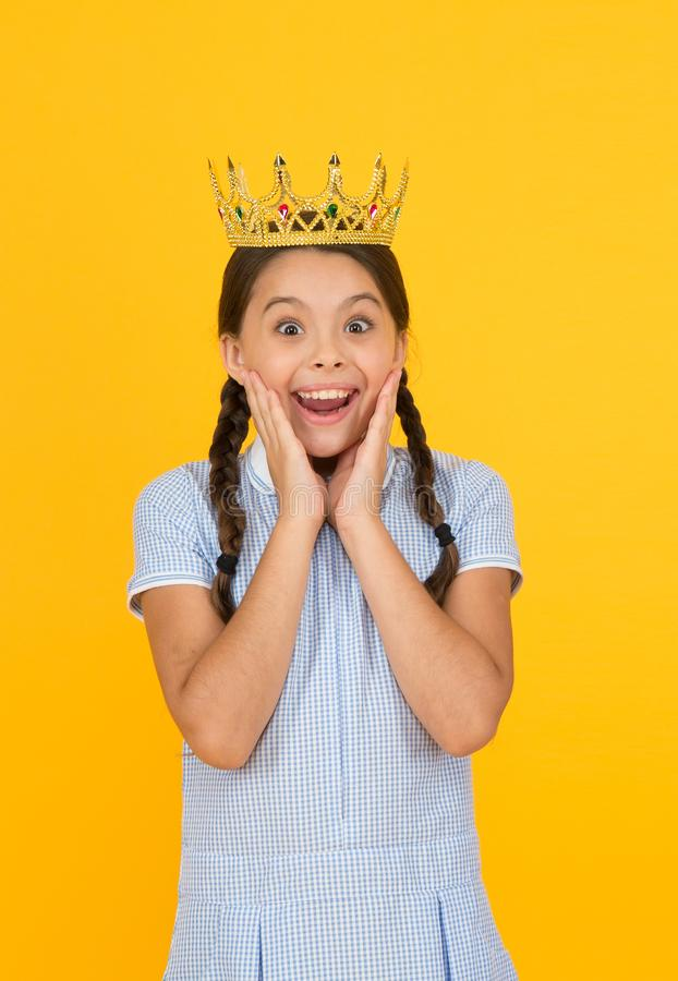 Free Join Luxury Class. Success And Respect. Little Princess. Motivational Award For School Children. Succeed In Education Stock Images - 157063384