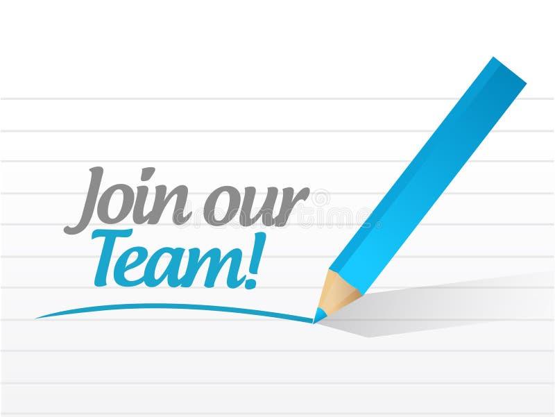 Download Join Our Team Sign Illustration Design Stock Illustration - Illustration of employee, team: 39508973