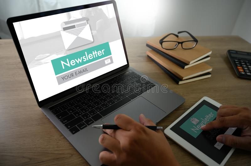 Join Register Newsletter to Update Information and Subscribe Register Member royalty free stock images