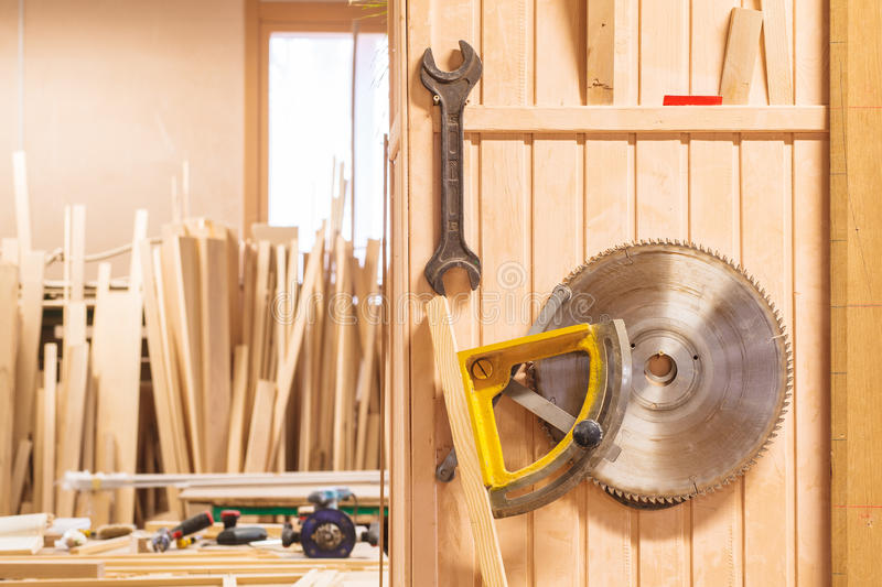 Joinery carpenter wood royalty free stock photography