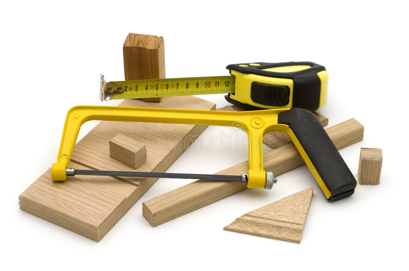 Joinery tool. On white background stock image