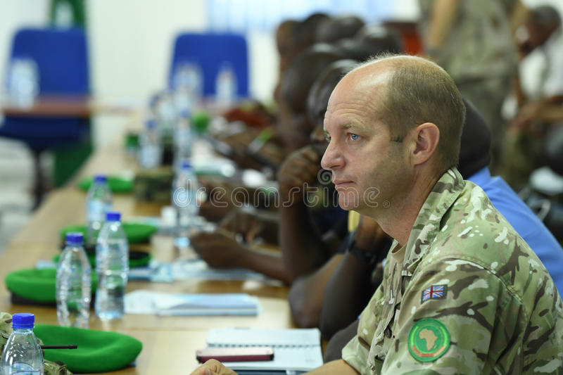 2017_07_24_Joint_AMISOM_FGS_Conference-7 royalty free stock image