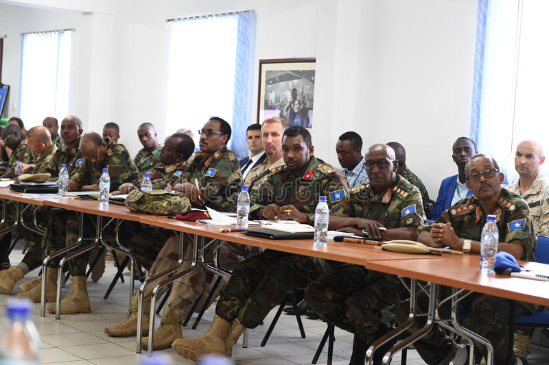 2017_07_24_Joint_AMISOM_FGS_Conference-6 royalty free stock photography