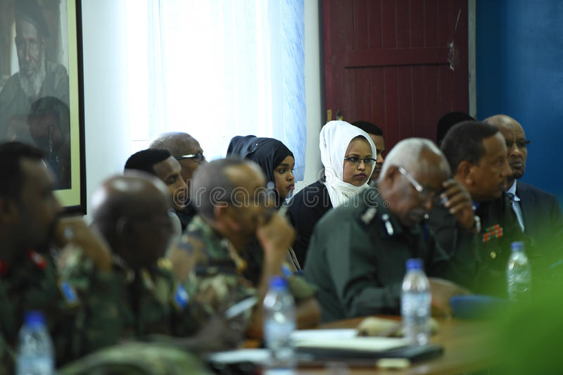2017_07_24_Joint_AMISOM_FGS_Conference-10 stock photography
