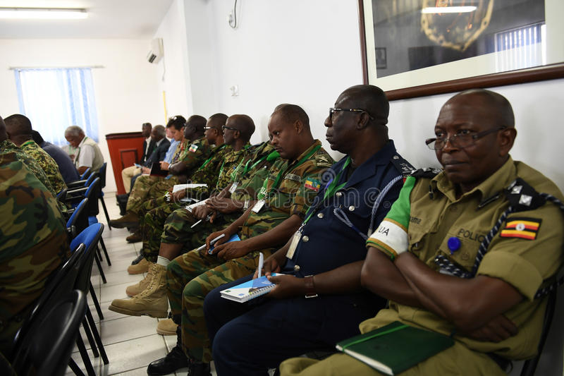 2017_07_24_Joint_AMISOM_FGS_Conference-2 royalty free stock photo