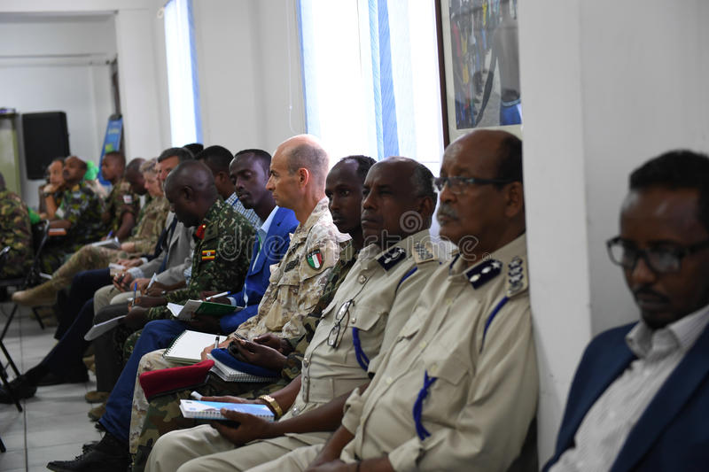 2017_07_24_Joint_AMISOM_FGS_Conference-4 royalty free stock photography