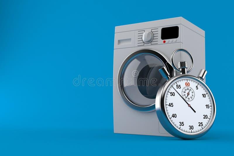 Joint avec le chronomètre illustration stock