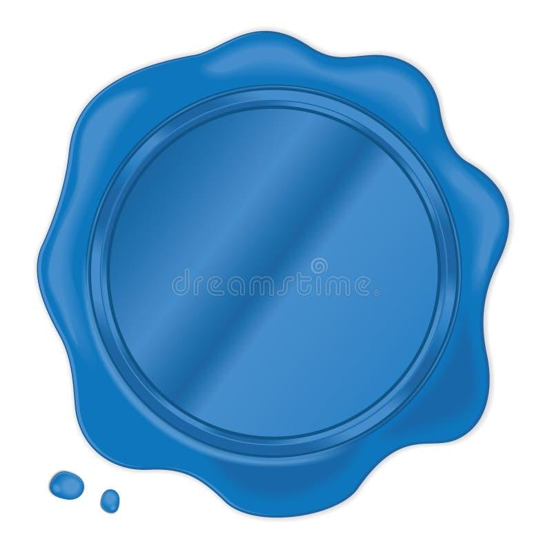 Joint bleu de cire photographie stock libre de droits