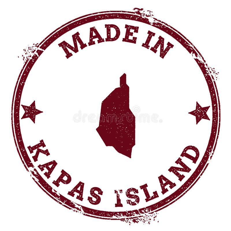 Joint d'île de Kapas illustration libre de droits