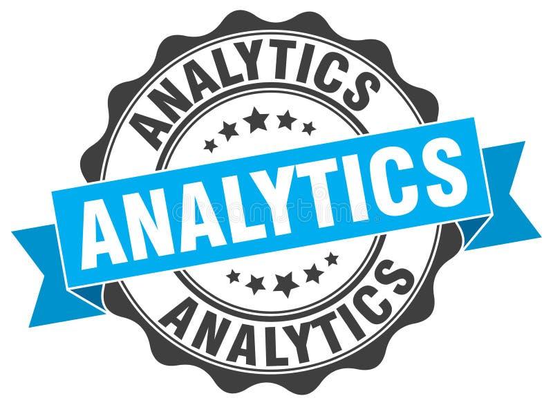 joint d'analytics estampille illustration libre de droits