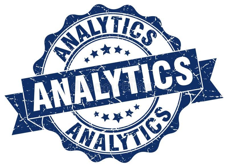 joint d'analytics estampille illustration stock