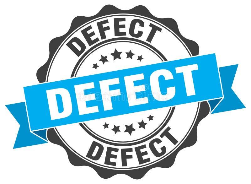 joint de défaut estampille illustration libre de droits