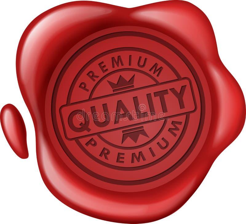 Joint de la meilleure qualité de cire de vente de qualité illustration de vecteur