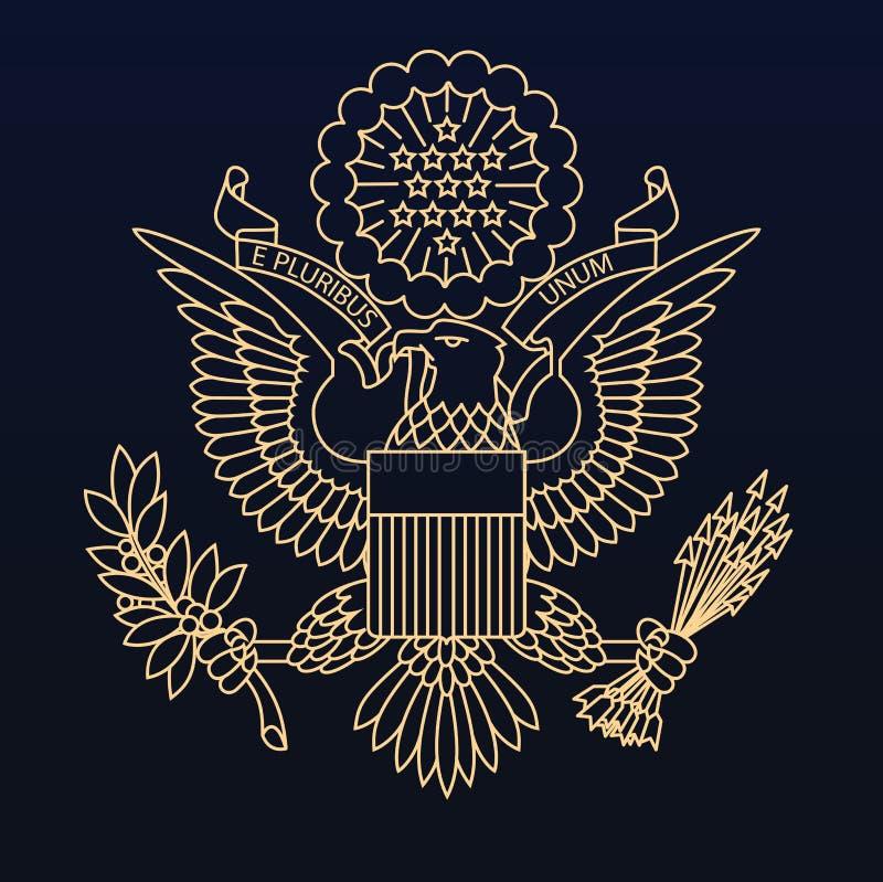 Joint de passeport des USA photos stock