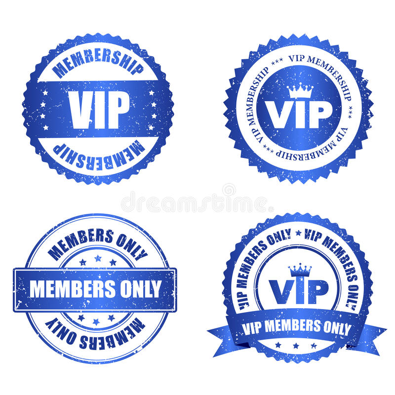 Joint de VIP illustration libre de droits