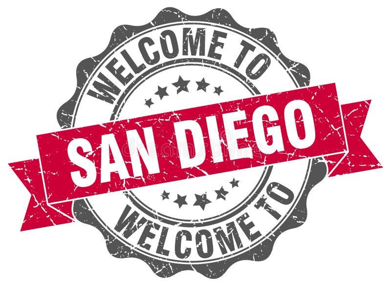 Joint rond de San Diego illustration de vecteur