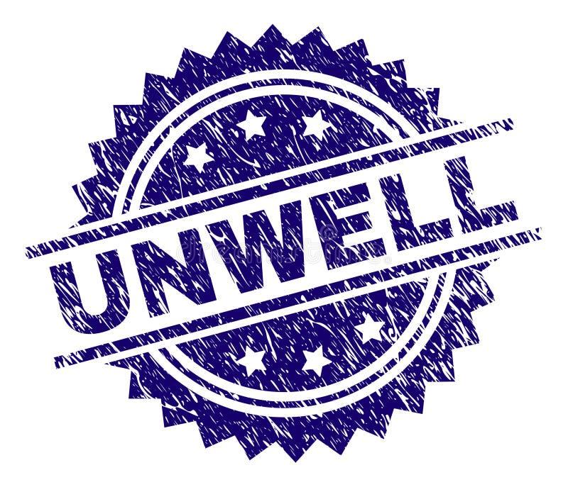 Joint SOUFFRANT texturisé rayé de timbre illustration libre de droits
