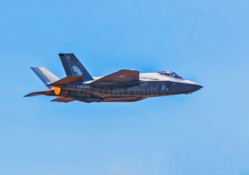 Joint Strike Fighter de F-35A imagen de archivo libre de regalías