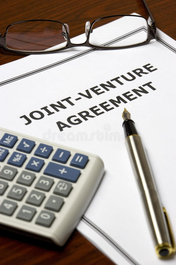 JointVenture Agreement Stock Photo Image Of Trade Agree